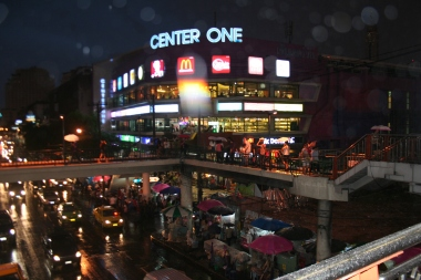 Center One Shopping Mall in Bangkok at Victory monument