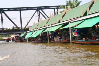 Klong or canal in Bangkok