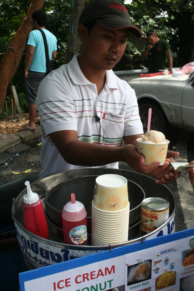 IceCream at Doi Suthep in Chiang Mai