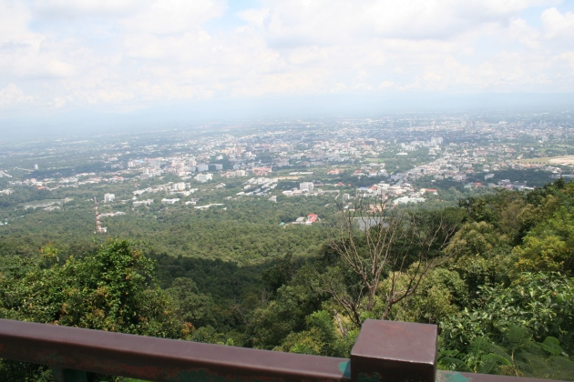 Chiang Mai City at View Point