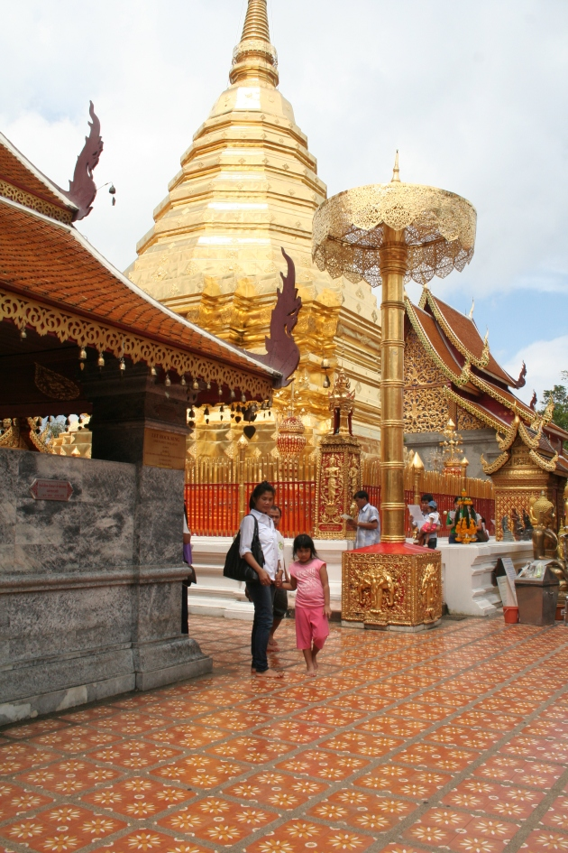 Doi Suthep Temple in Chiang Mai city, North of Thailand