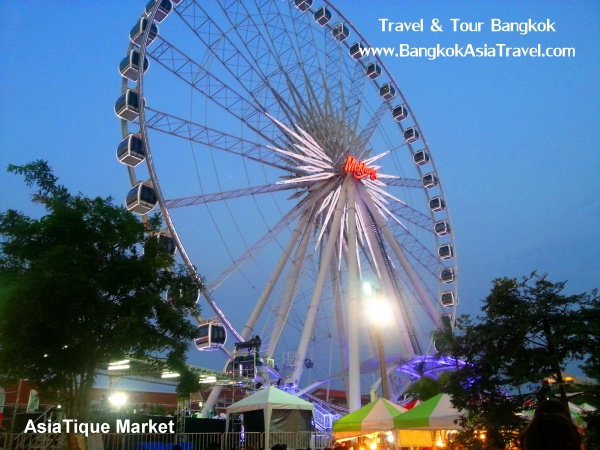 Asiatique Market in Thailand