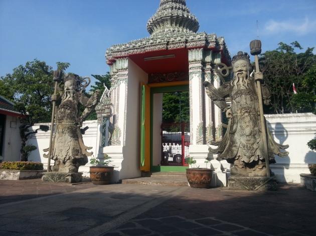 Wat Pho ( Reclining buddha temple)